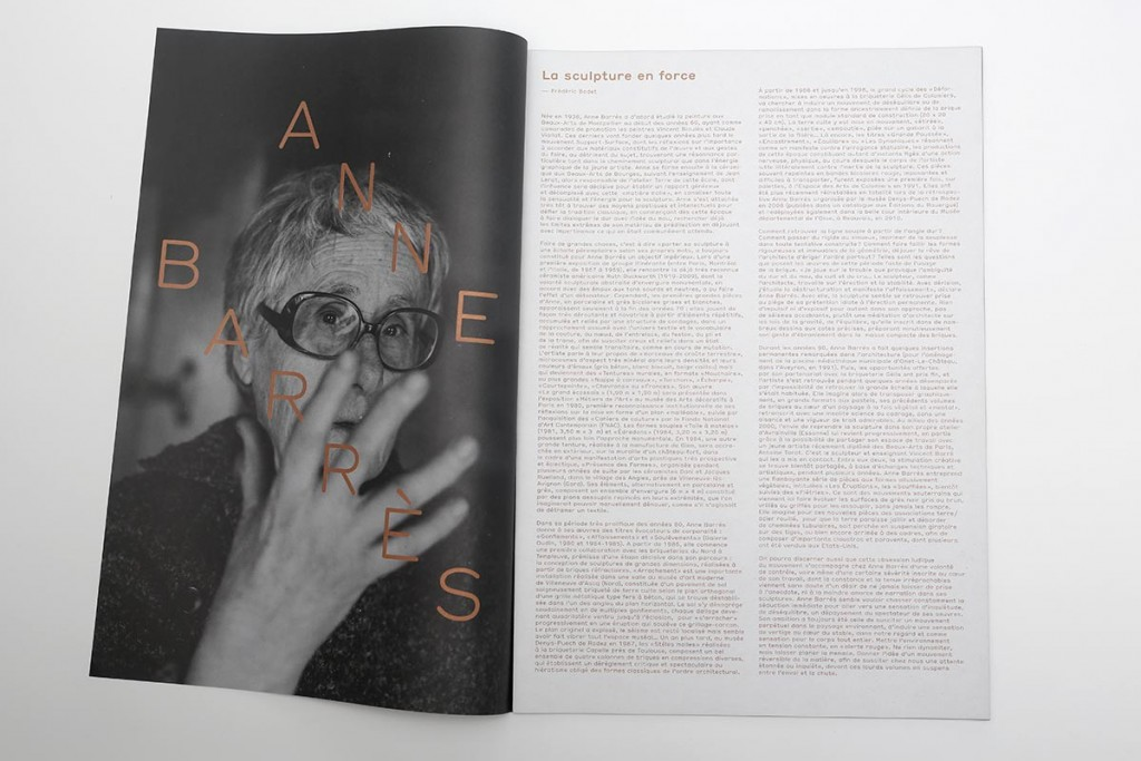 Vincent Gebel  — D.A., Design graphique Anne Barrès