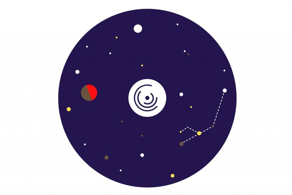 Vincent Gebel  — D.A., Design graphique Strabic—Vacances Galactiques