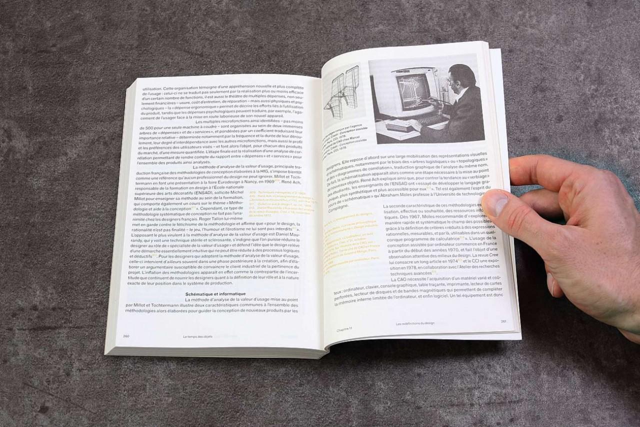 Vincent Gebel  — D.A., Design graphique Le temps des objets