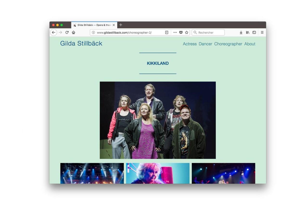 Vincent Gebel  — D.A., Design graphique Gilda Stillbäck